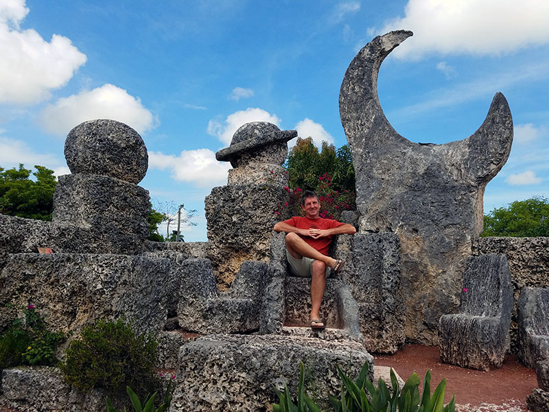 king of coral castle florida
